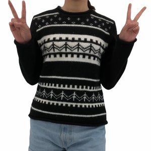 Evan Picone | Sz S Wool Acrylic Country Sweater